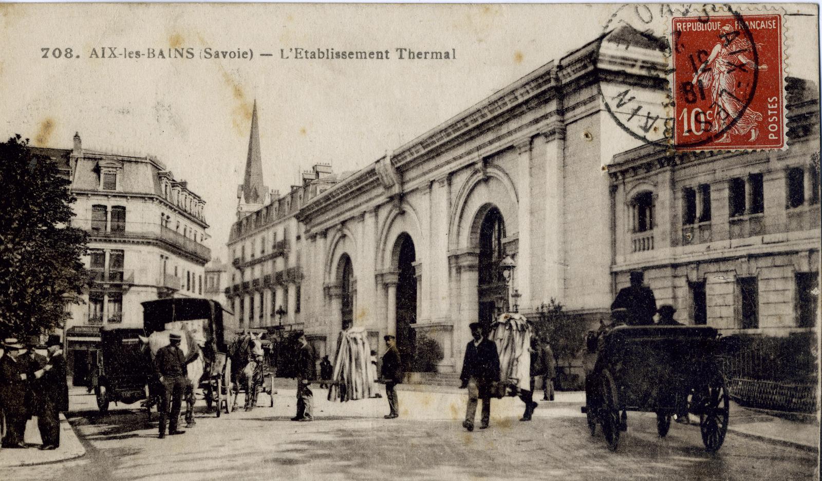 Thermes Pellegrini Aix-les-Bains